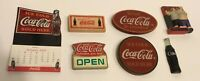 Vintage To Now Coca-Cola Magnet Set Of Seven Collectibles