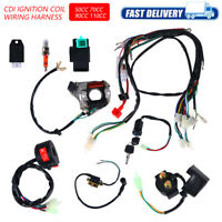 CDI Wire Harness Stator Assembly Wiring Harness For Chinese ATV Quad 50cc 125CC