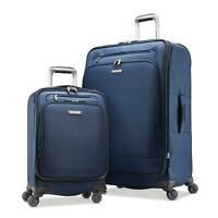 Samsonite 122040.5094 Precision Softside 2-Piece Luggage Set Dress Blue