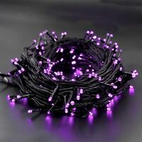 300 LED Purple Halloween String Lights 98.5FT 8 Lighting Modes Light