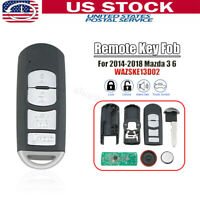For 2014 2015 2016 2017 2018 Mazda 3 6 Smart Remote Key Fob WAZSKE13D01 D02 $25.99