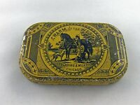 Vintage Tobacco Advertising quot; CHARM of the West quot; Horizontal Pocket Tin Empty