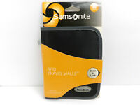 Samsonite Travel Business Black RFID Travel Wallet