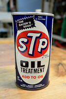 NOS 1976 STP Oil Treatment Can *Nice* Vintage Race Car
