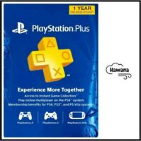 Sony PlayStation Plus PS 12 Month 1 Year Membership Subscription – USA $42.99