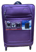 American Tourister ILite Max Spinner soft side suitcase 29quot; purple