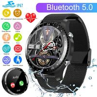 Smart Touch Watch Bluetooth Call Heart Rate Blood Oxygen Monitor Fitness Tracker $39.98