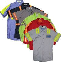 Used Work Shirts High Visibility Hi Vis Reflective Safety Uniform Towing