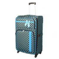 Polka Dot Delight Expandable Lightweight Spinner 19quot; Luggage