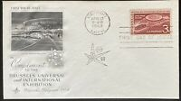 FDC 1958 BRUSSELS UNIVERSAL AND INTERNATIONAL EXHIBITION $3.49