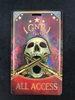 Guns N#x27; Roses TOUR Backstage Concert Pass NOT USED ON TOUR