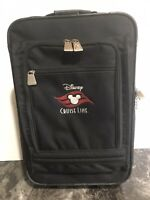 Disney Cruise Line DCL Rolling Luggage Carry On 20quot; Suitcase.