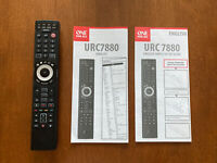 One For All URC7880 Smart Control 8 device Universal Remote Black USED Perfect $15.99