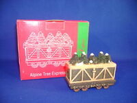 JC PENNEY HOME TOWNE EXPRESS ALPINE TREE EXPRESS TRAIN