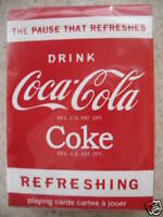 Bicycle Coke Coca Cola Playing Cards Pause That Refreshes 2010 Edition