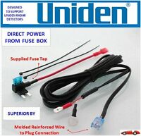 UNIDEN R3 and R1 Radar Detector Direct Power Cord from Fuse Box DP UND