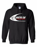 ARCTIC CAT SWOOSH Vintage Snowmobile Hoodie Sweatshirt Sizes to 5XL