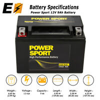 NEW SLA Battery YTX9-BS for 2003~2010 Suzuki ATV LTZ 400 LTZ400 250 QuadSport