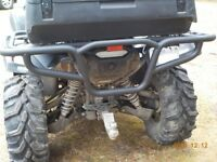 Yamaha Grizzly 700 (2016-2020) Bison Rear ATV Bumper Brush guard Hunter
