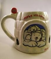2005 Cola Cola Polar Bear Igloo Cup
