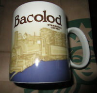 STARBUCKS PHILIPPINES GLOBAL ICON BACOLOD CITY 16 OZ MUG LIMITED EDITION NEW