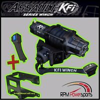 SUZUKI KING QUAD 750 4X4 KFI ASSAULT 5000LB WINCH & MOUNT 2008-2019