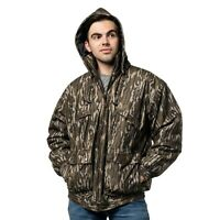 MENS INSULATED/ WATERPROOF MOSSY OAK CAMOUFLAGE TANKER JACKET- HUNTING- CAMPING