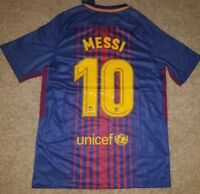 58e97cac3 Messi Barcelona 2017 2018 Home Jersey Adult