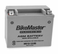 AGM Platinum II Battery YTX12-BS Compatible Glass Mat MC & ATV Battery
