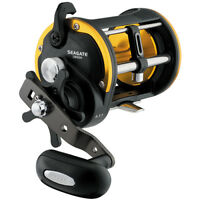 Daiwa Seagate Levelwind Saltwater Conventional Reel 60, 6.1:1 Gear, Right Hand