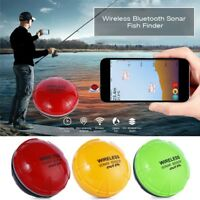 90° Portable Wireless Bluetooth Fish Detection Sonar Fish Finder For IOS Android