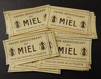 Vintage French Perfume Labels Miel Bind3#15