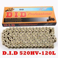 Heavy duty 520HV O-Ring Chain 120 Links with Master link Fit ATV Motorcycle