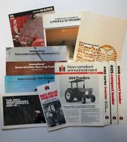 1980#x27;S IH Tractor Literature Assortment