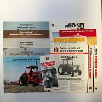 1980#x27;s International Tractor Literature Assortment