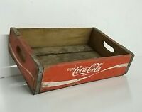 1978 Coca Cola Newport Arkansas Coke Case Crate Soda Bottle Wooden carrier old