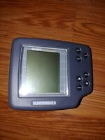 Portable Humminbird Wide One Hundred 100 Depth Fish Finder Head Unit Only Nice!