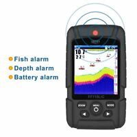 Lucky Portable Wireless+Wired 2 In One Waterproof Fish Finder Monitor FF718LICA3