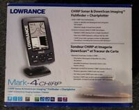 Lowrance Mark 4 Chirp  Fishfinder / Chartplotter with transducer - 000-11824-001