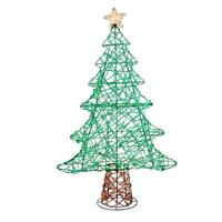 Holiday Living 48-in Christmas Tree Sculpture with Multicolor LED Lights ... C3