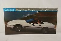 GM Chevrolet Dealership Showroom Floor Poster - 1989 Chevrolet Corvette