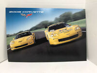 GM Chevrolet Dealership Showroom Poster - 2006 Chevrolet Corvette Z06