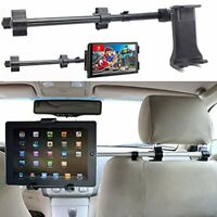 Universal Tablet Holder Mount Car Headrest Seat Stand Travel for iPad Samsung