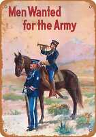 Metal Sign - 1910 US Army Recruiting - Vintage Look Reproduction