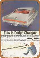 Metal Sign - 1967 Dodge Charger - Vintage Look Reproduction 4