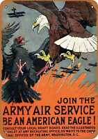 Metal Sign - 1917 Join the Army Air Service - Vintage Look Reproduction