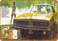 Metal Sign - 1969 Dodge Charger SE Special Edition - Vintage Look Reproduction