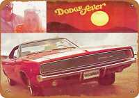 Metal Sign - 1968 Dodge Charger - Vintage Look Reproduction 3