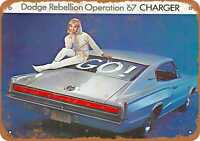 Metal Sign - 1967 Dodge Charger - Vintage Look Reproduction 2