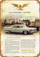 Metal Sign - 1959 Chrysler Imperial - Vintage Look Reproduction